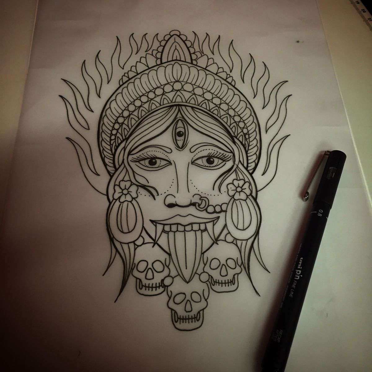 Kali drawing