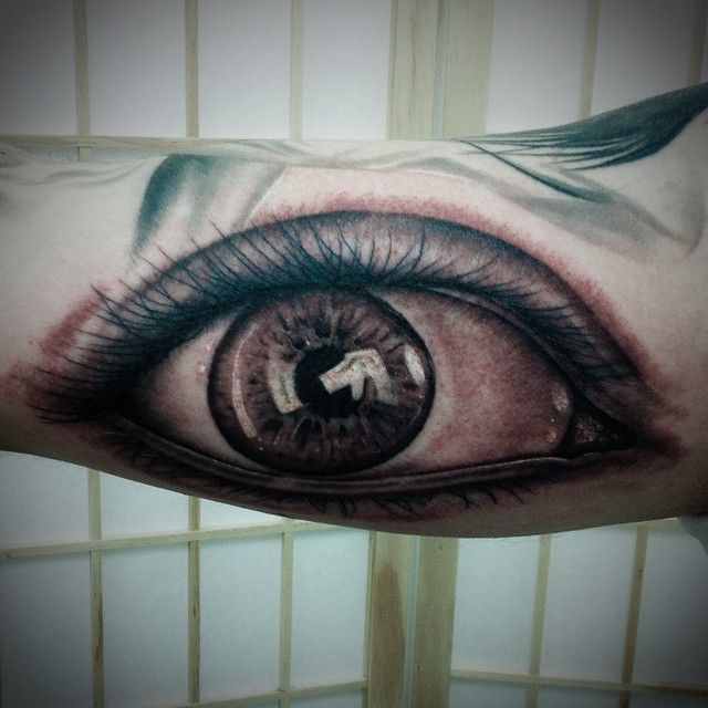 Here is an eye from the other week done by Terry Frank