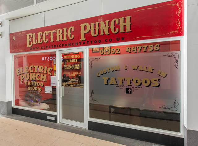 Electric Punch Tattoo Studio is one of Hertfordshire's finest custom and walk-in Tattoo Studios situated on the Hertfordshire & Essex border.